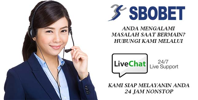 live chat sbobet Indonesia